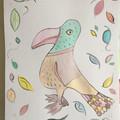 Mr odwig bird framed