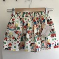 Little Girl Skirt with Pockets, Size 4