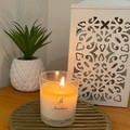 Soy candle, non toxic, sustainable plant based soy, 100% soy, handpoured.