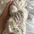 Handspun bulky art yarn 160 grams approx 126 yards Soft merino silk