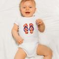 Thongs Applique Pattern. Flip Flops PDF Template. Shoes Applique Design