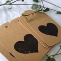 Stamped Heart Gift Tags | Set of 12