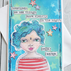 Special Sister Handmade Card