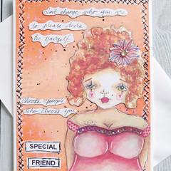 Special Friend Handmade Card