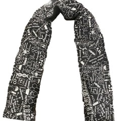 Science Heat Scarf Wheat Heat Bag Heat Pack Neck Chemistry Teacher gift Black