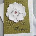 All My Love Handmade Card