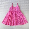 Pink floral dress - Size 2 Kids dress for Spring or Summer