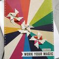 Work Your Magic Handmade Card