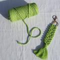 Key Ring - Apple Green