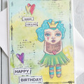 Queen For A Day Handmade Card