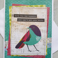 Live For The Moments... Handmade Card