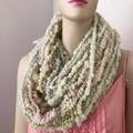 Handspun bulky yarn superfine merino art yarn pastels 100 gram