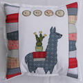 Cushion cover - Llama with cactus