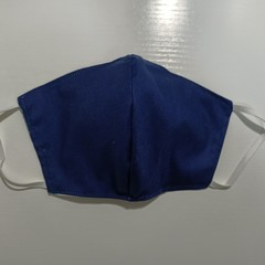 Reusable Cloth face mask - Navy blue, just for you