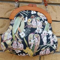 Green Gumnut Babies Handbag