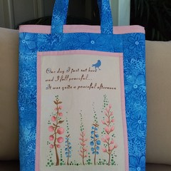 Peaceful day Tote.