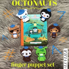 Octonauts Finger Puppet Set (6 to choose from!)