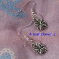 Gorgeous Tibetan Silver Luck/Symbol Charm Earrings - You Choose!