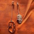 Artistic Face Earrings