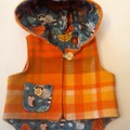 THE WOODLAND PURE WOOL WINTER VEST  OUTDOOR JACKET  SIZE NB