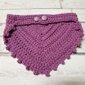 Crochet Cotton Dribble Bib