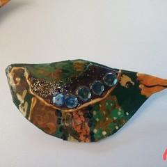 Bird brooches bizarre