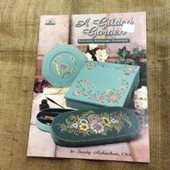 Book - A Gilded Garden by Sandy Aubuchon - Folk Art