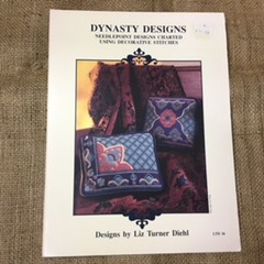 Leaflet - Needlepoint - Dynasty Designs by Liz Turner Diehl