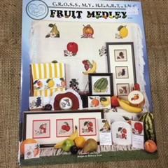 "Books - Cross Stitch ""Patchwork Farm Animals"" & ""Fruit Medley"""