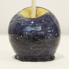 Marble toffee apples