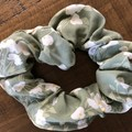Moss Floral design Scrunchies
