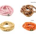 Wooden Stretch Bracelet in European Bead