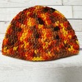 Crochet Beanie - 3 to 6 months.