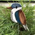 Kookaburra garden stake