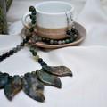 Indian Agate Jewellery Set