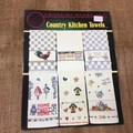 Book - Cross Stitch - Country Kitchen Towels