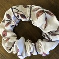 Dusty Rose Cotton Linen Scrunchies