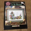 """Leaflets - Cross Stitch """"As Seasons Change"""" and """"To Be Blessed"""""""