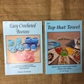 Books - Top that Towel or Easy Crocheted Bootees