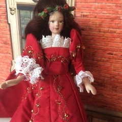 1/12th OOAK Porcelain  Hand Made Doll  Jane