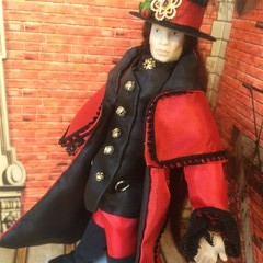 1/12th OOAK Hand Made Porcelain Doll   Thomas Prince of Dreams