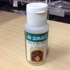 Jo Sonja Glass and Tile Primer Part A