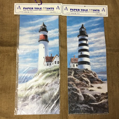 Paper Tole Prints - lighthouses
