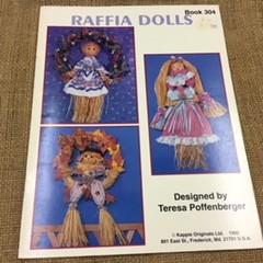 Book - Raffia Dolls designed by Teresa Poffenberger