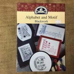Book - DMC Alphabet and Motif Blackwork