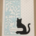 Cat Pet bereavement  Sympathy Card - free post