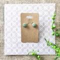 Cute Minimalist Boho Fine Jewelry Polymer Clay Statement Earrings Necklace Set