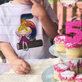 Personalised Embroidered Fairy Birthday T-shirt (postage included)