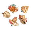 Handmade ceramic buttons NO HOLES