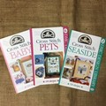 Book - DMC Cross Stitch designs Seaside, Pets and Baby.